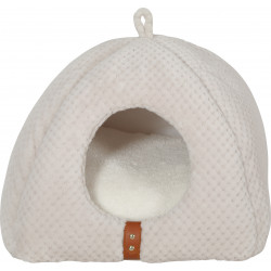 zolux ZO-500121BEI PALOMA Igloo Shelter for cats. 40 x 37 x 41 cm. Beige colour. Sleeping
