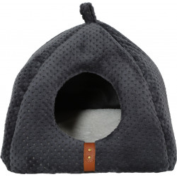 zolux ZO-500121GRI PALOMA Igloo Shelter for cats. 40 x 37 x 41 cm. Grey colour. Sleeping