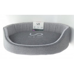 zolux IN & OUT. dog basket. 100 x 73 x 21 cm. grey color. Dodo