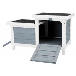 Trixie TR-62390 Hutch with 2 exits . 70 x 43 x 45 cm. for small animals. Cage