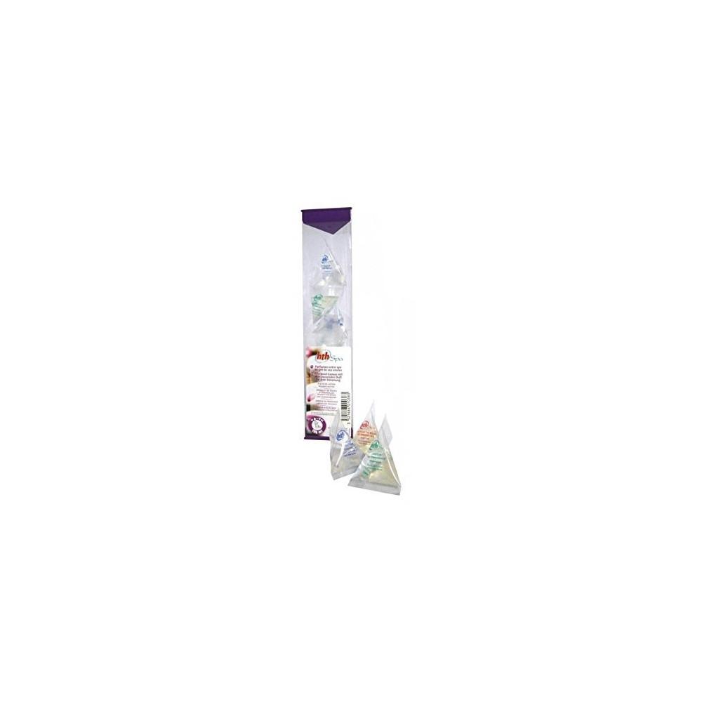 HTH 10 berlingots de parfums - 4 parfums Différent pour Votre Spa SC-AWC-500-8063 SPA