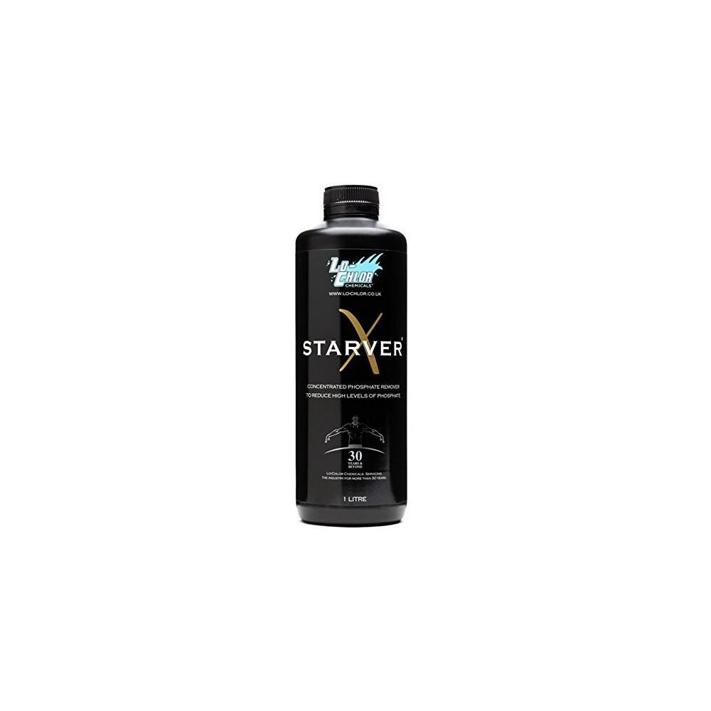 éliminer les phosphates spa et piscine 1 litre - Starver X SPA lo-chlor SC-LCC-500-0561