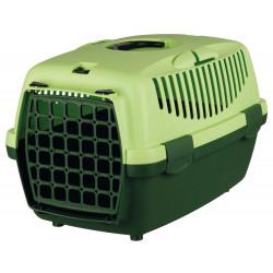 TR-39814 Trixie Caja de transporte, Capri 1, para perro o gato pequeño, tamaño: XS 32 x 31 x 48 cm Jaula de transporte