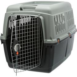 Trixie Scatola di trasporto Giona 5. dimensioni M. 60 x 61 x 81 cm. per cane. ESSERE ECO. TR-39893 Gabbia da trasporto