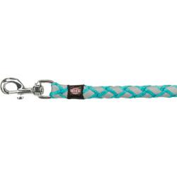 Trixie TR-135612 Laisse Cavo Reflect Océan. Taille S-M. 1 mètre ø 12 mm. pour chien dog leash