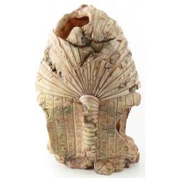FL-401454 Flamingo Tutankamón decoración.L 19 x 16 x 28 cm - acuario Decoración y otros