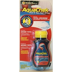 Aquachek Testeur 4 en 1 br+ph+alca+th Analyse piscine aquachek SC-AQC-470-0006
