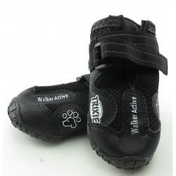 Trixie TR-19464 une paire bottes de protection Walker Active. Taille: M-L. pour chien. Botte et chaussette