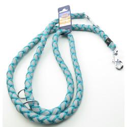 Cavo Reflect Ocean leash ajustável. Tamanho L-XL. 2 metros ø18mm. para cão TR-135912 trela de cão