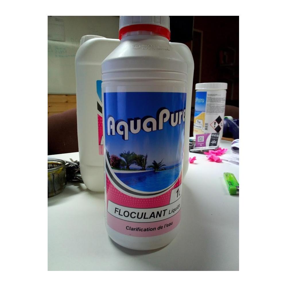 FLOCULANT PISCINE 1 LITRE Produit de traitement Jardiboutique BP-48665799
