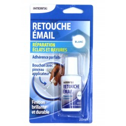 Générique Repair Enamel Chips and Stripes Touch Up White 20ml colle et autre