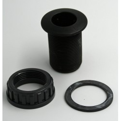 """Générique  SO-ASE1PP 1 """", one PVC wall bushing for female threaded connection PVC wall feed-through"""