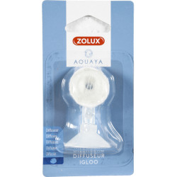 zolux ZO-321315 Adjustable igloo air diffuser with suction cup and foam . for aquarium. Accessory