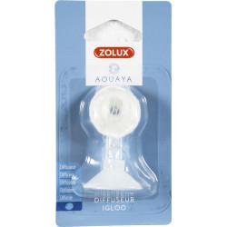 ZO-321315 zolux Difusor de aire de iglú ajustable con ventosa y espuma . para el acuario. Accesorio