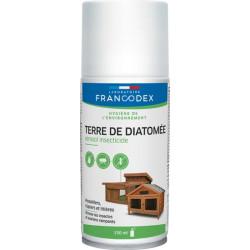 Francodex Diatomaceous earth in 150 ml aerosol. Low yard. Traitement