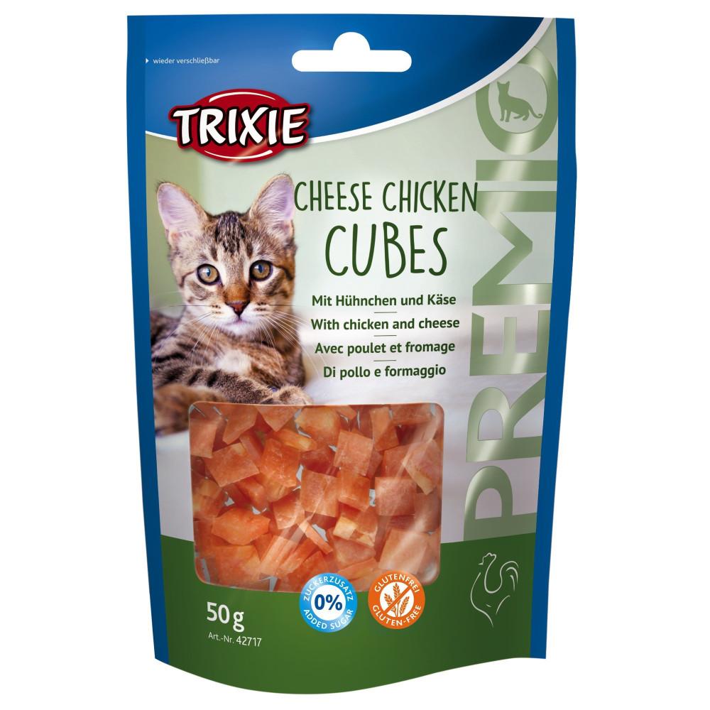 Friandise au poulet et fromage pour chats 50 gr Friandise Trixie TR-42717
