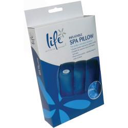 LIFE oreiller avec ventouses pour bains et spa PSY-850-0002 Accessoire pour spa