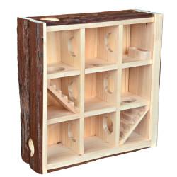 Trixie Spielturm für kleine Nagetiere 30*30*10 cm TR-61709 Spiele, Spielzeug, Aktivitäten