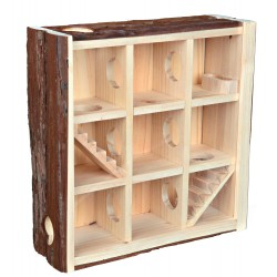 TR-61709 Trixie Torre de juego para pequeños roedores 30*30*10 cm Juegos, juguetes, actividades