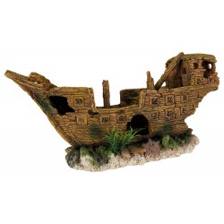 Boat wreck 36 cm Decoration and other Trixie TR-87881