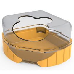 zolux 1 Toilettenhaus für kleine Nagetiere. Rody3 . farbige Banane. Größe 14,3 cm x 10,5 cm x 7 cm . für Nagetiere. ZO-206040...