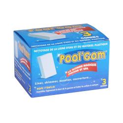 Pool Gom nettoyage de la ligne d'eau piscine Brosse toucan TOU-400-0005