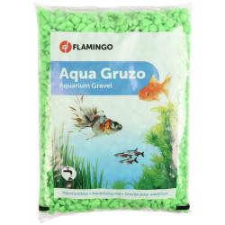 Flamingo Grüner Neonkies 1 kg. für Aquarium. FL-400432 Dekoration und Sonstiges