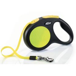 Flexi ZO-464435 Flexi neon strap 5 meters. size M. flexi dog leash. dog leash