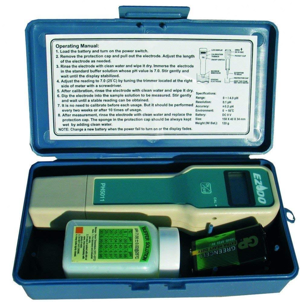 Testeur de pH électronique pour Piscine Analyse piscine Générique  MNC-450-0120
