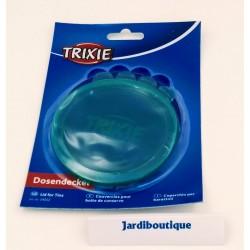 2 Couvercles 10.6 cm pour boites de conserve ALIMENTATION CHIEN OU CHAT accessoire alimentaire Trixie TR-24552