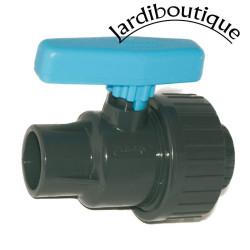 Vanne Plimex a Boisseau Simple Union diamètre 40 mm Vanne piscine  Plimat SO-VSU40