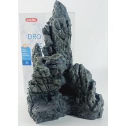 Decor. kit Idro pedra preta n°3. dimensão 17,5 x 15 x Altura 27 cm. para aquário. ZO-352165 Decoração e outros