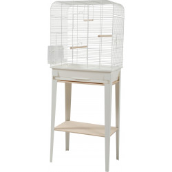 zolux Cage and furniture CHIC LOFT. size L. 53.5 x 33 x height 134 cm. white color. Cages, aviaries, nest boxes