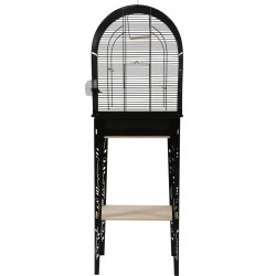 zolux Cage and furniture CHIC PATIO. size M. 44.5 x 28 x height 133 cm. black color. Cages, aviaries, nest boxes
