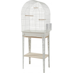 zolux Cage and furniture CHIC PATIO. size L. 53 x 33 x height 144 cm. color white. Cages, aviaries, nest boxes