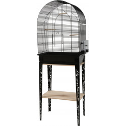 zolux Cage and furniture CHIC PATIO. size L. 53 x 33 x height 144 cm. black color. Cages, aviaries, nest boxes