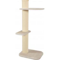zolux Cat tree CITY CAT n°3. size height 148 cm. post ø 17 cm. colour beige. Arbre a chat, griffoir