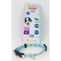 Colar PUPPY MASCOTTE. 8 mm .16 a 25 cm. de cor azul. para cachorros ZO-466735BLE Cachorrinho
