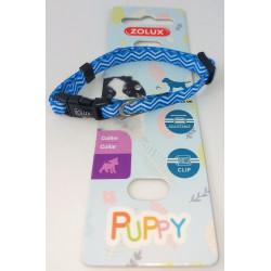 zolux Halskette PUPPY PIXIE. 8 mm .16 bis 25 cm. blaue Farbe. für Welpen ZO-466741BLE Welpe