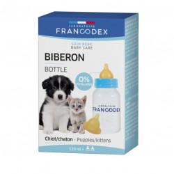 francodex Babyflasche 120 ml für Welpen und Kätzchen FR-170401 Welpe