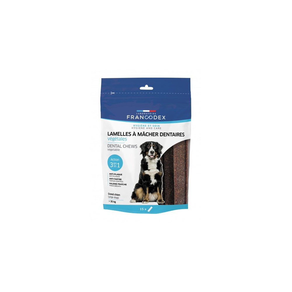francodex FR-172366 Chewing Slices 490g For Large Dogs Nourriture