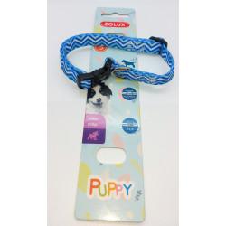 zolux Halskette PUPPY PIXIE. 13 mm .25 bis 39 cm. blaue Farbe. für Welpen ZO-466744BLE Welpe
