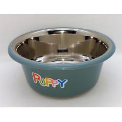 zolux Stainless steel bowl PUPPY. ø 16.5 cm . color blue Bowl, bowl, bowl