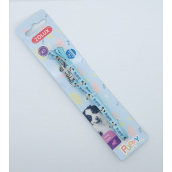 zolux Let PUPPY MASCOTTE. 8 mm . length 1,20 m. color blue. for puppies dog leash
