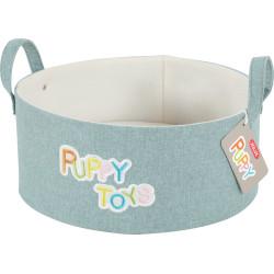 zolux Spielzeugkorb für Welpen. ø 30 cm. Höhe 14 cm. ZO-409720 Welpe
