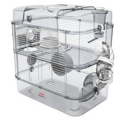 Cage Duo rody3. cor Branco. tamanho 41 x 27 x 40,5 cm H. para roedor ZO-206018 Cage