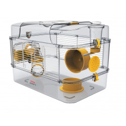 zolux Cage rody 3 solo Banane. taille : 41 x 27 x 28 cm. pour petit rongeur Cage