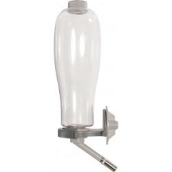 zolux Flasche für Nagetiere, Fassungsvermögen 500 ml, graue Farbe. ZO-206392 Schalen, Verteiler