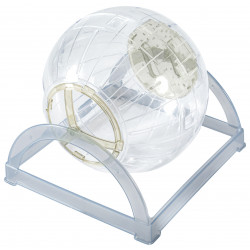 zolux ZO-280023 2 in 1 exercise ball. ø 18 cm. for hamster and mouse. beige colour. Games, toys, activities