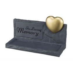 Trixie TR-38417 Memory memorial stone. 20 × 12 × 7 cm. Dog